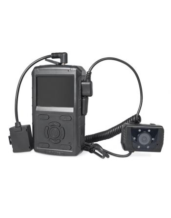 Gravador Bodycam de áudio e vídeo Portátil (PVR) Strazh