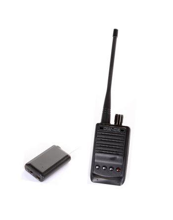 Transmissor sem fios de áudio com função de gravação