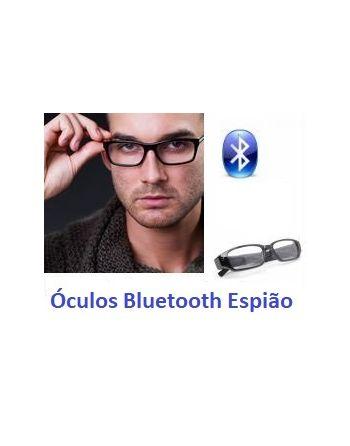 Kit espião Ponto eletronico Ouvido com oculos bluetooth espião e microfone