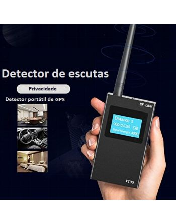 Detector de escutas RF Scanner Micro Camera GSM GPS WIFI