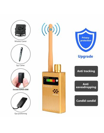 Detector de sinal ANTI-SPY WIRELESS RF Escutas GPS Micro Camera (SENSIBILIDADE ULTRA-HIGH)