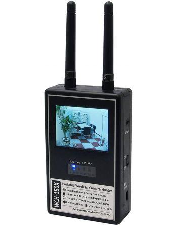Detector scanner de micro câmera sem fio com Aviso de som e vibração tempo real