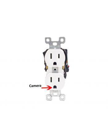Tomada de energia micro câmera HD WiFi 1080p 16GB Card Free