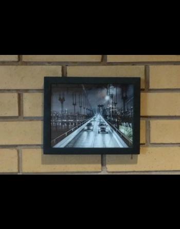 Porta Retrato Câmera 720p HD Detector de movimento