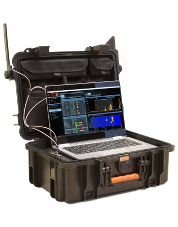 Delta X 100/4 Analisador de Espectro 40KHz-4400 MHz Sistema de Vigilância e Contraespionagem