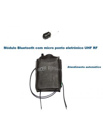 Mini Transmissor Bluetooth e Micro Ponto de Ouvido RF