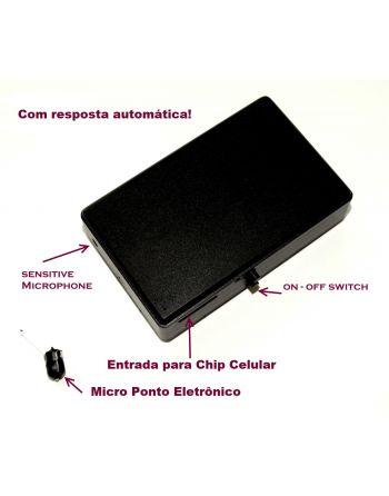 GSM Box Espião  (Transmissor GSM duas vias e Micro Ponto de Ouvido RF)