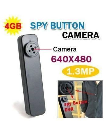 Botão Espião 4gb Filmadora Oculta Camera 4 Gb Espiã 007