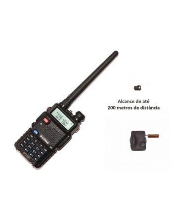 Sistema Ponto Eletrônico de Ouvido UHF FM Invisível