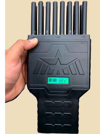 Ultra Jammer Portátil 16 antenas handheld