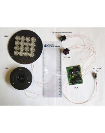 Kit Auto Montável Bloqueador de gravador Dual Band Ultra sônico