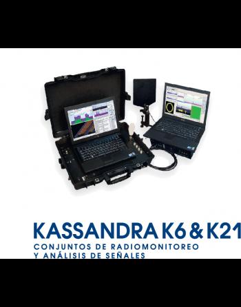 Kassandra K6 - Suíte de Monitoramento Spectral de Rádio e Análise de Sinal Espectral