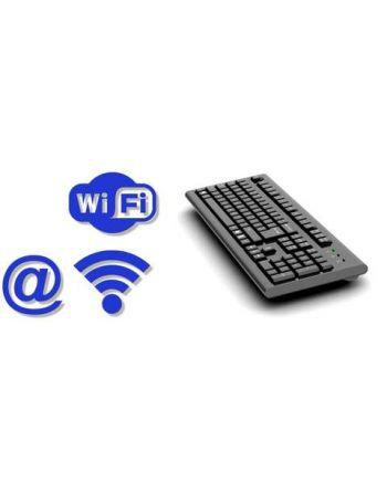 Teclado Espião Keylogger Forense E-mail Wifi Pro-Teclado Integrado