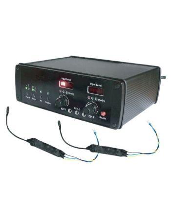 Sistema de monitoramento digital de ambientes conectado à rede elétrica