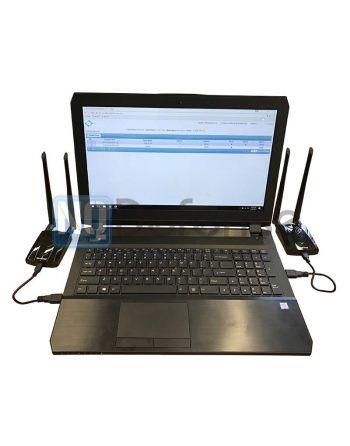 Sistema de interceptação Wi-Fi padrão