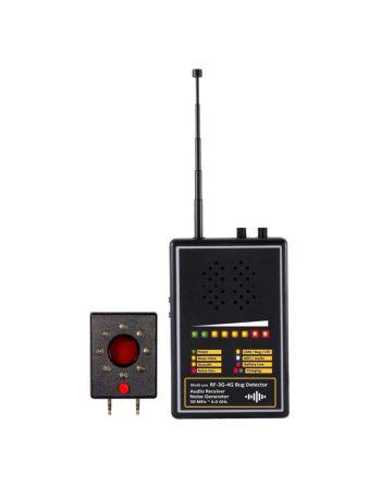 Detector e demodulador de escutas espiãs UHF FM