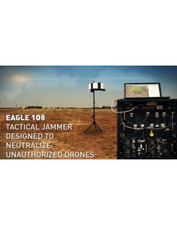 Modelo EAGLE108 - Sistema de Detecção e Bloqueio de Drones Made in ISRAEL