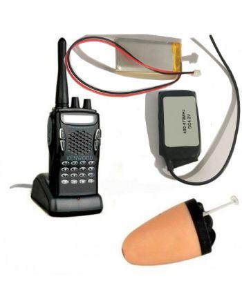 Ponto Eletrônico Ouvido via rádio placa receptora UHF ajustável