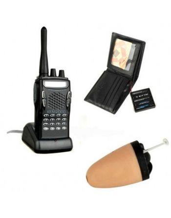Ponto Eletrônico Espião Via Rádio + Carteira Transmissora