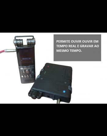 Escuta de áudio acústica profissional Bluetooth