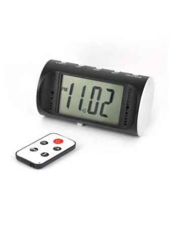 Relógio Digital câmera com detector de movimento e controle remoto 1280*960