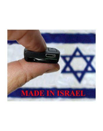 Micro Gravador de voz Espião Israelense 436Hrs Voice Activation