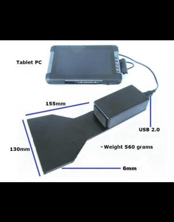 """FOX-4 Câmera por baixo de portas com tablet 8"""" Windows 10"""