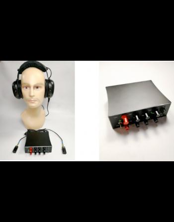 Sistema de Escuta para Audição estéreo multifuncional através de paredes