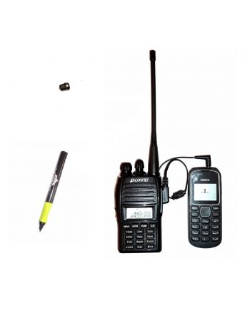Sistema Ponto Eletrônico de Ouvido híbrido RF UHF GSM com alcance infinito