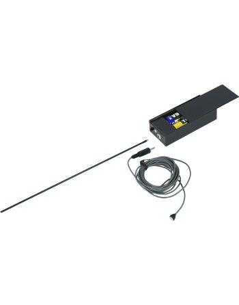 Escuta UHF 40L 3m cable com microfone externo