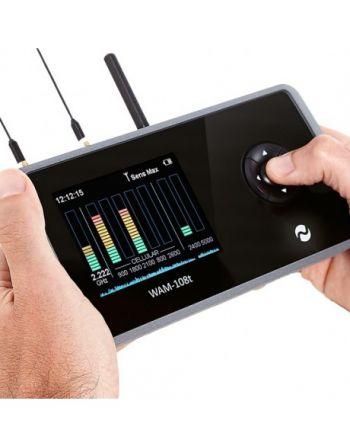 Monitor de atividades sem fio WAM-108T para detecção de câmeras ocultas, escutas e rastreadores de GPS