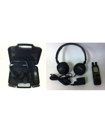 Mic II Spy - Microfone de contato para vazamento acústico