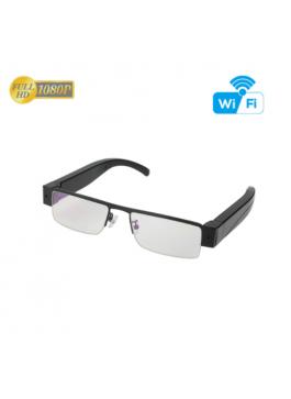 Óculos Espião HD 1080P WiFi P2P Real Time