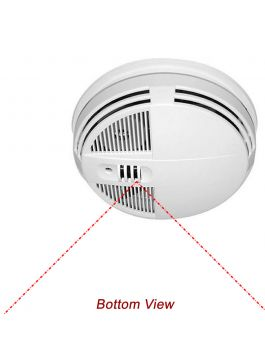 Detector de fumaça Micro câmera com visão noturna WiFi 90 Dias Standby