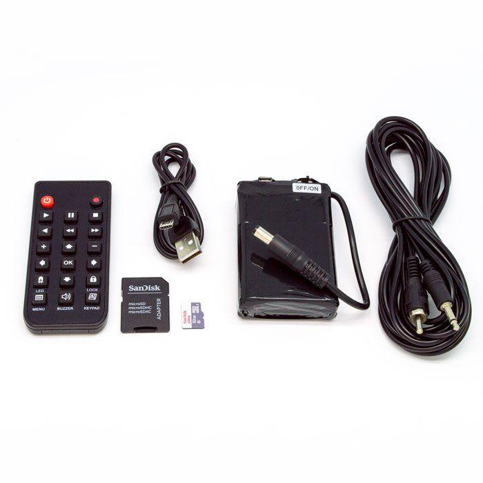 micro camera toco arvore