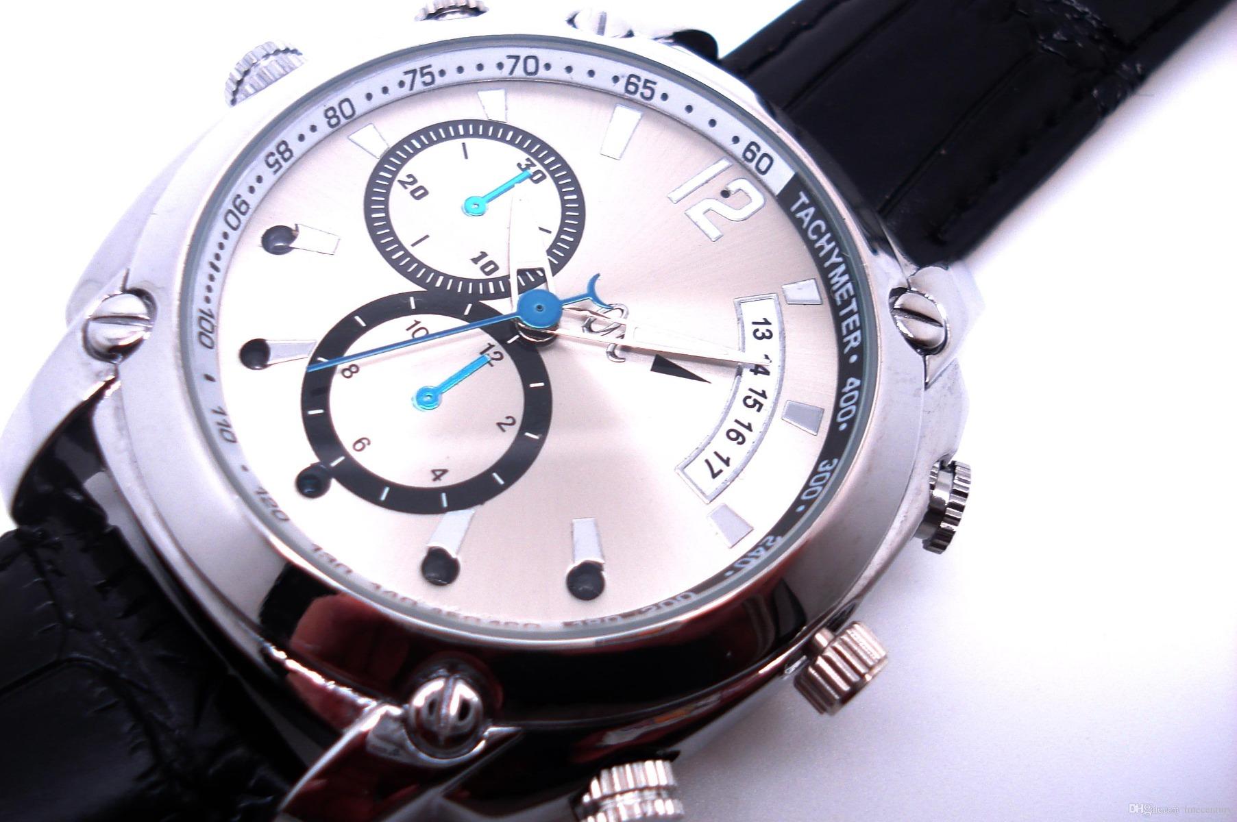 Relógio Espião 8gb 640x480 Avi E Fotos 1600x1200 Spy Watch
